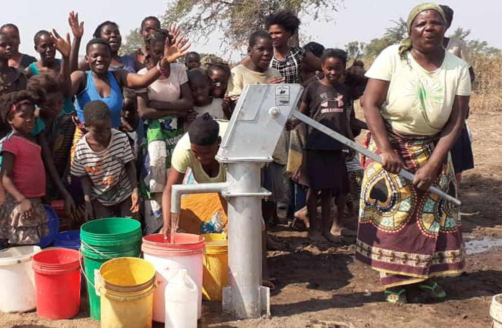 New Borehole for the Loti Villages